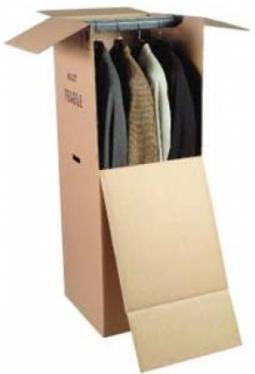 Kleider Karton Lang